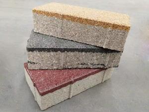 陶瓷透水砖200*100*55颜色大全